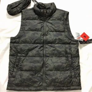 32 Degrees 650 Fill Down Packable Vest NWT